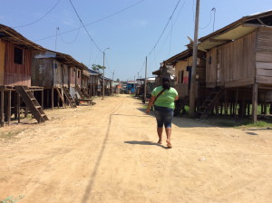 Iquitos straatbeeld