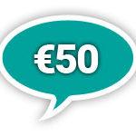 50 euro voor el manguare