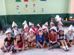 hoedje van papier Peru