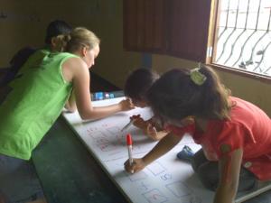 onderwijsstage in Peru