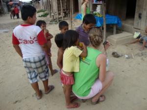 volunteer Iquitos vrijwilligerswerk