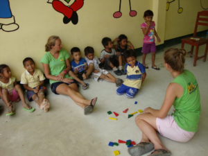 vrijwilligerswerk met kinderen in Peru