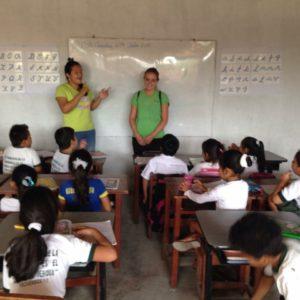 onderwijsassistent in Peru